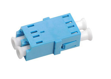 LC - LC Duplex Fiber Optic Adapters , Fiber Optic Cable Adapter Single Mode